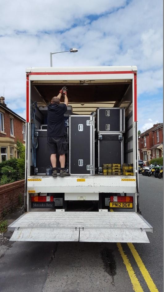 van load